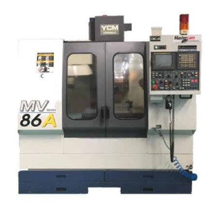 YCM MV86A SUPERMAX CNC DİK İŞLEME MERKEZİ TS001