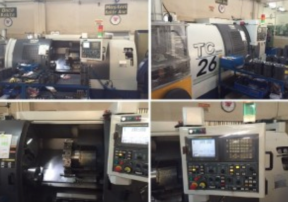 YCM TC 26L SUPERMAX CNC TORNA TS004