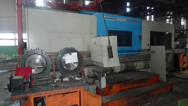 Boehringer VDF 400 DR CNC Cranckshaft Torna