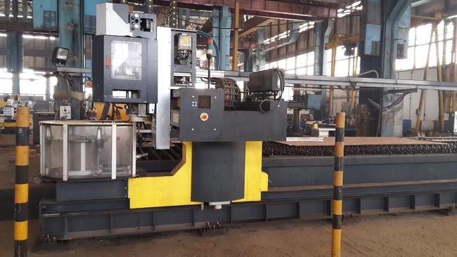 SOITAAB CNC Plazma Kesme Makinası