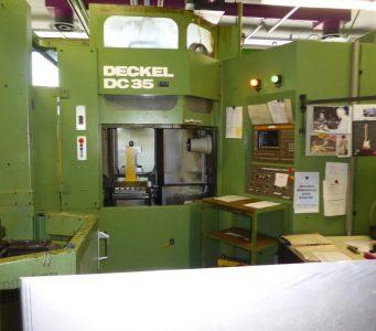 Ürün No726-01 Yatay işleme Deckel DC 35 (0)