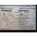 telemecanique ats23 d72q starter 3