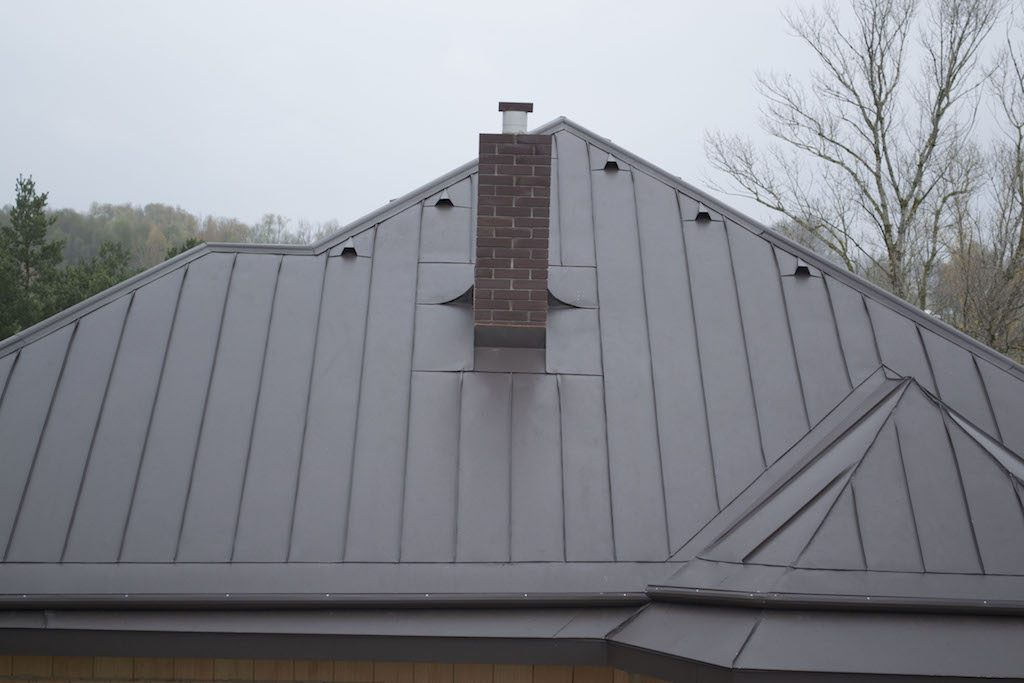 double standing seam roof