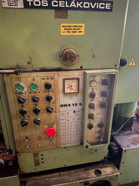 tos oha 12a gear shaping machine 1 rotated