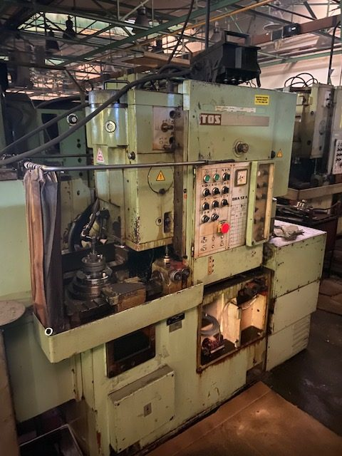 tos oha 12a gear shaping machine 4 rotated